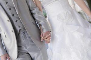 結婚式入場