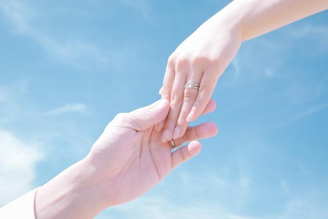 女性の結婚指輪